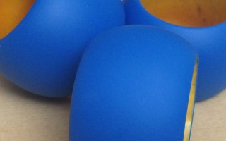 BLUE NAPKIN RING