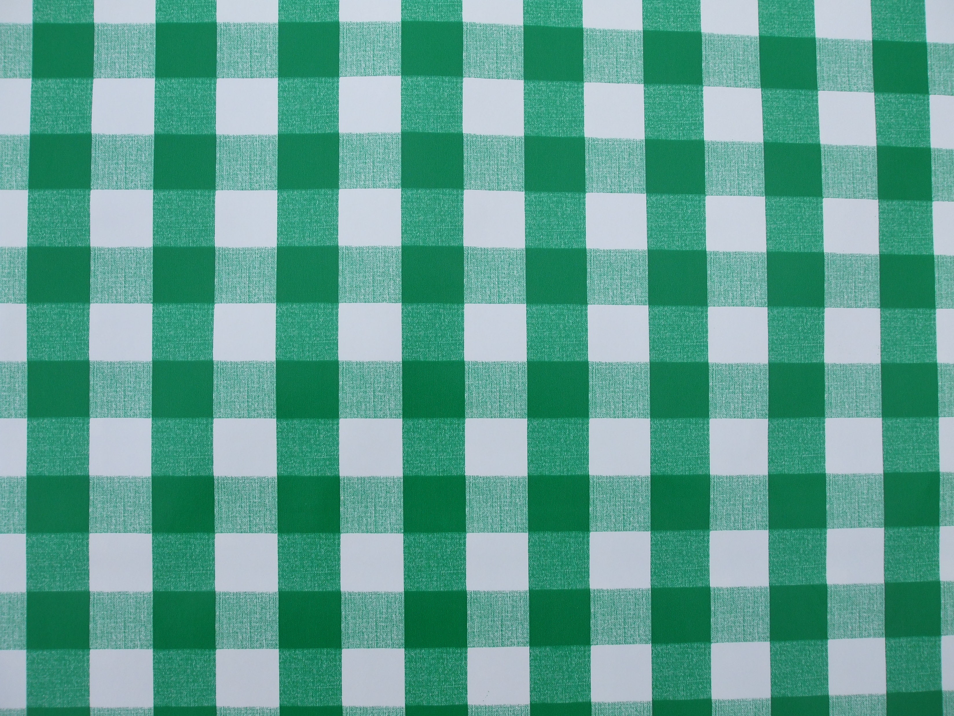 Elegant GREEN GINGHAM