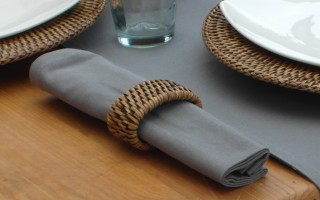 COTTON GREY NAPKIN