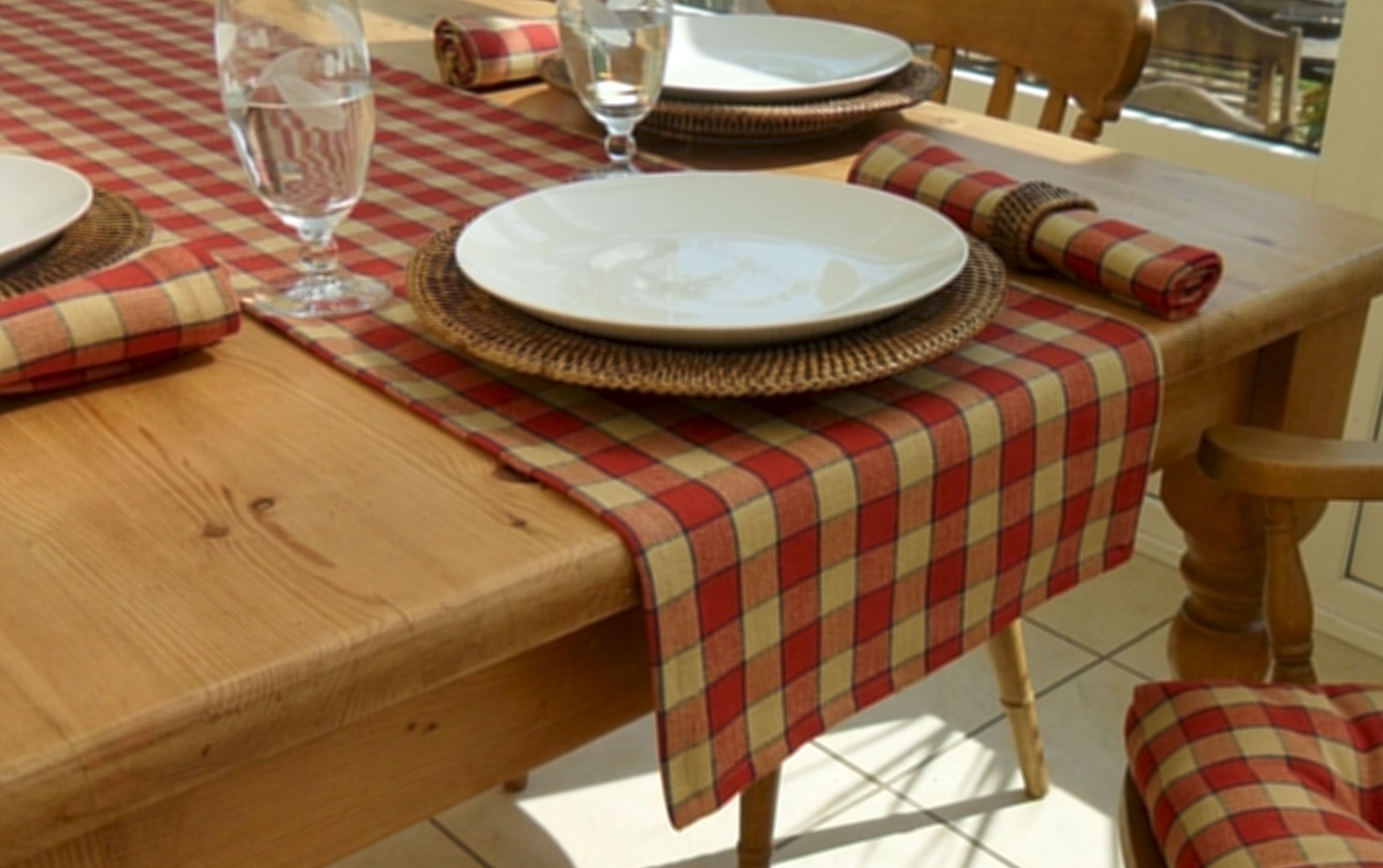 Farmhouse Collection Table Runner The Tablecloth Company
