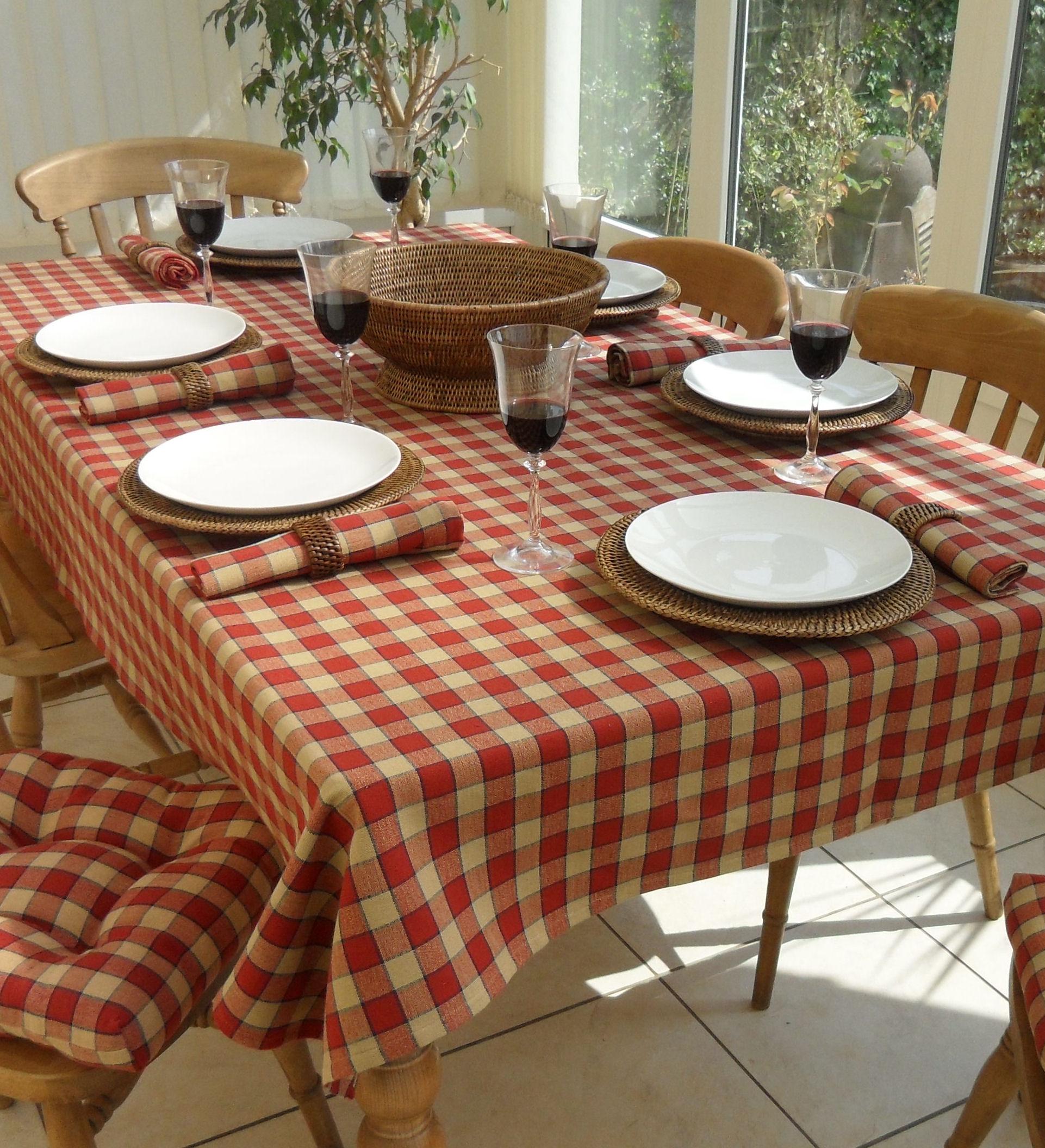 Farmhouse Collection Rectangle The Tablecloth Company