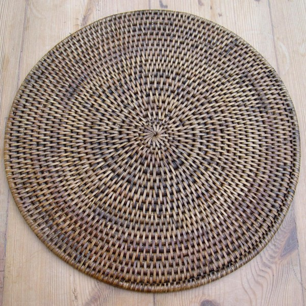 Rattan Placemat Round The Tablecloth Company