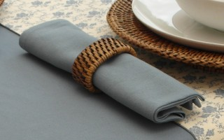 COTTON BLUE NAPKIN