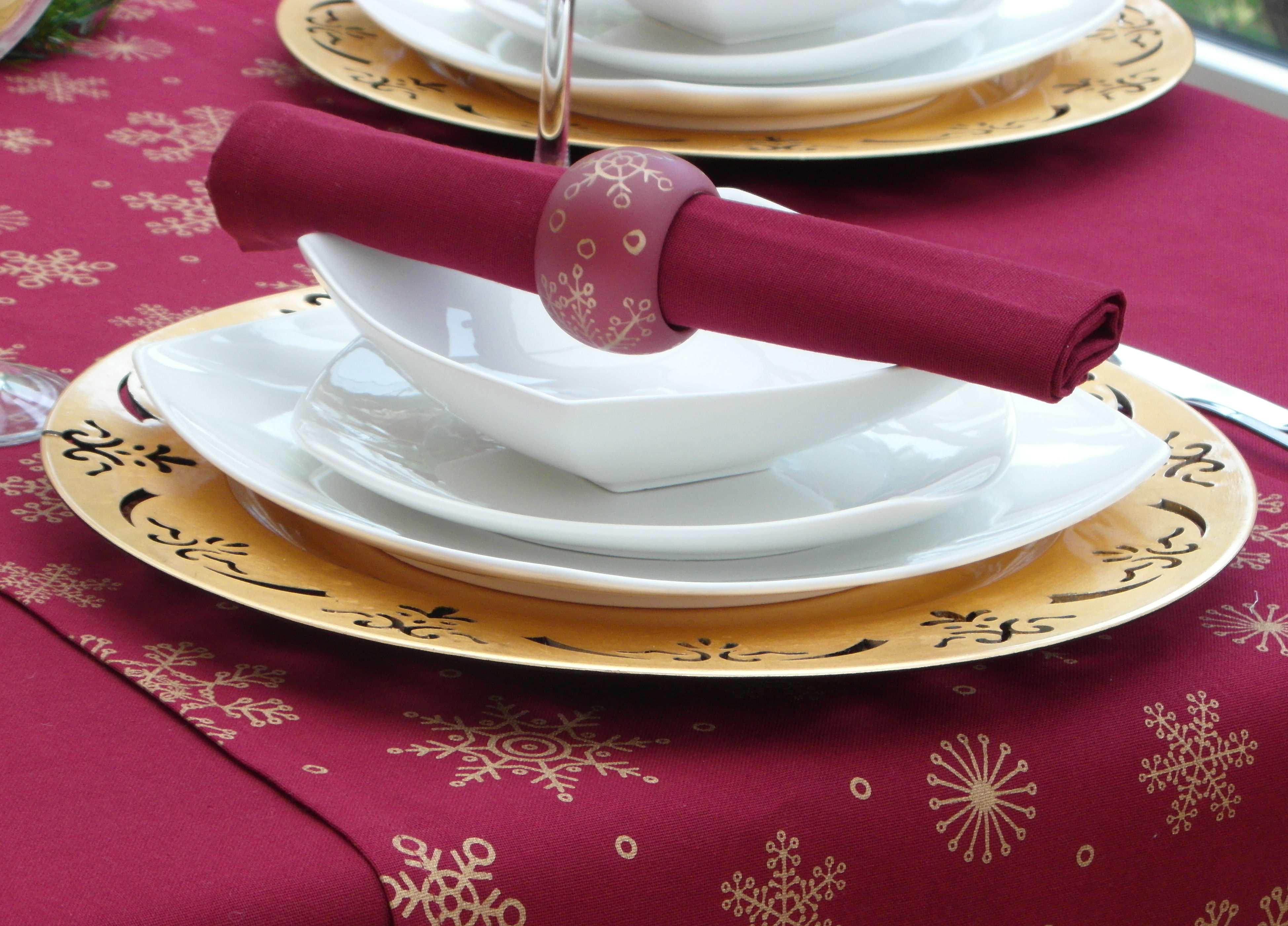 Cotton Collection Pack Of 4 Wine Napkins The Tablecloth