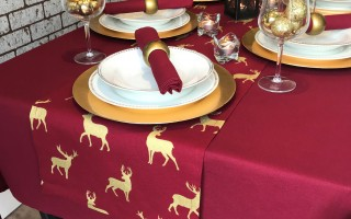 WINE RECTANGLE STAG