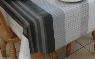 GREY & BLACK STRIPE