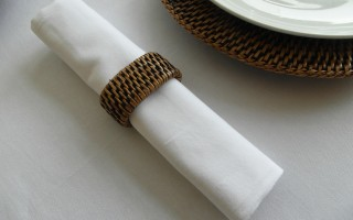 DRILL COTTON WHITE NAPKINS