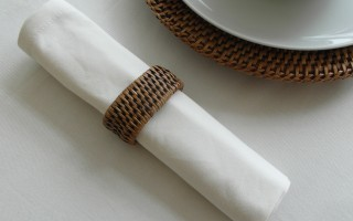 DRILL COTTON CREAM NAPKIN