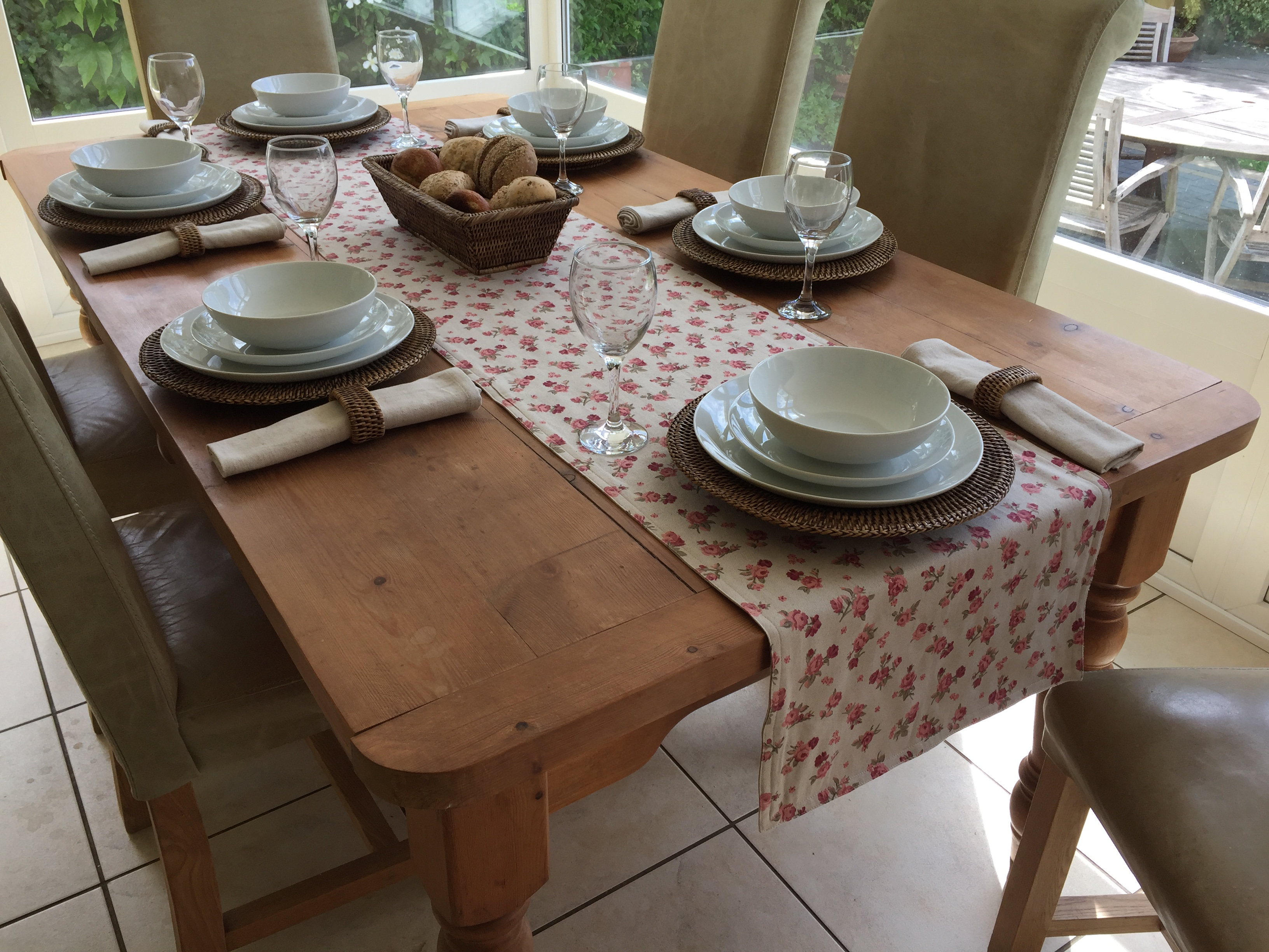 Over 35 Off Natural Collection Double Sided Table