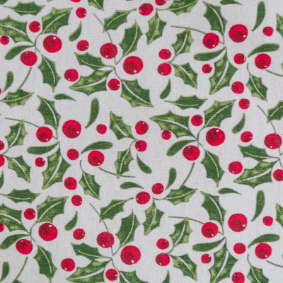 RED & GREEN HOLLY