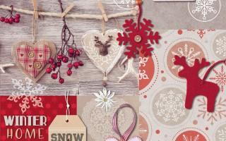 CHRISTMAS WINTER HOME
