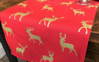 RED & GOLD STAG RUNNER